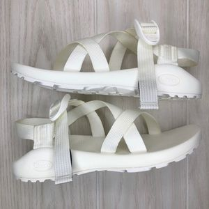 Chaco Z/1 Chromatic Solid Festival White  Size 8